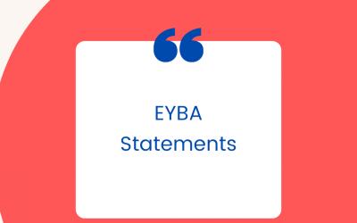 EYBA Statements