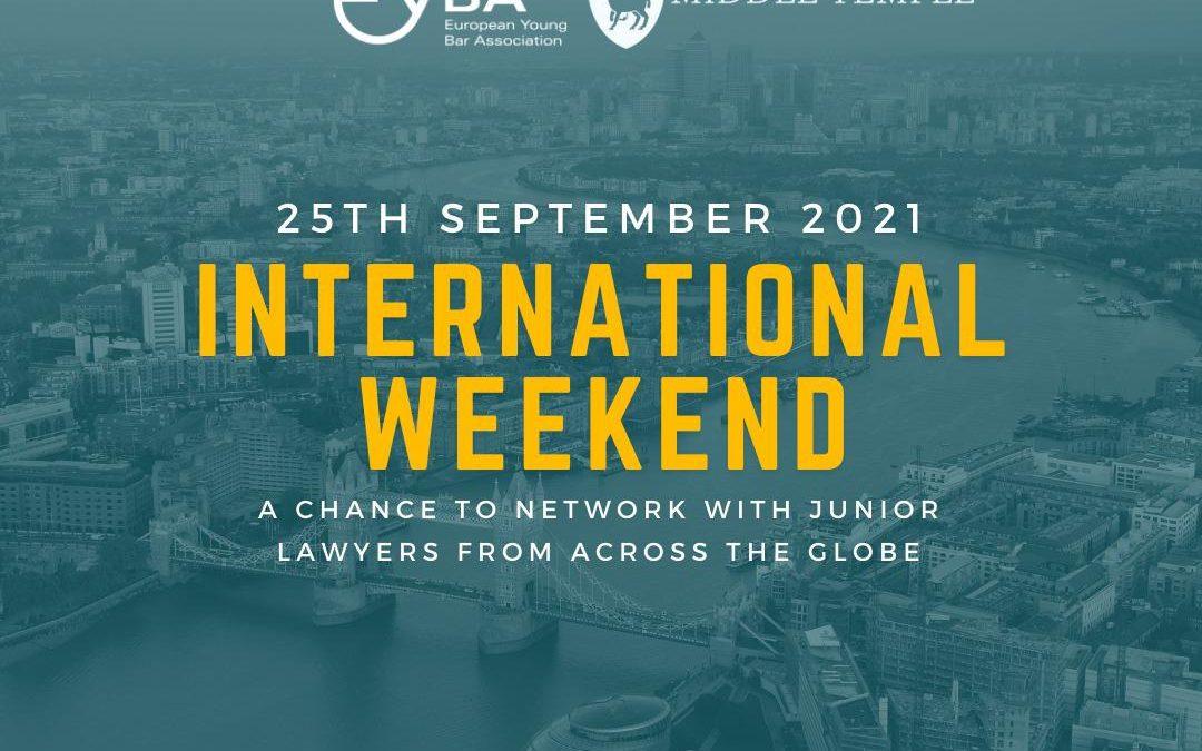 International Weekend 2021