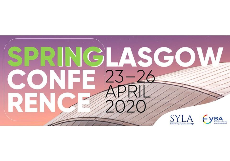 EYBA Spring Conference 2020 – For auld lang syne
